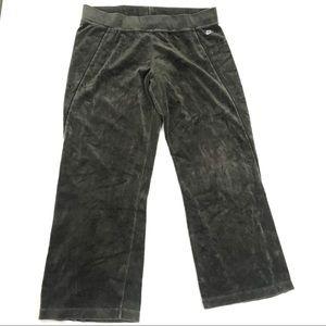 Nike XL 16-18 Wide Leg Fleece Pull On Sweatpants